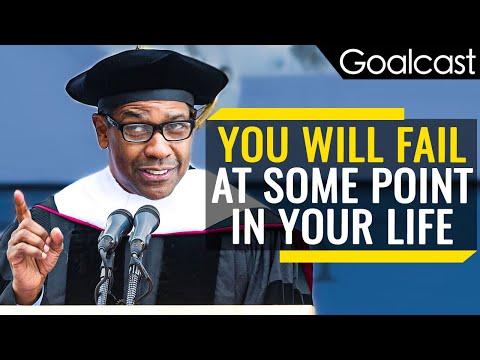 How Failure Leads To Success | Denzel Washington | Goalcast