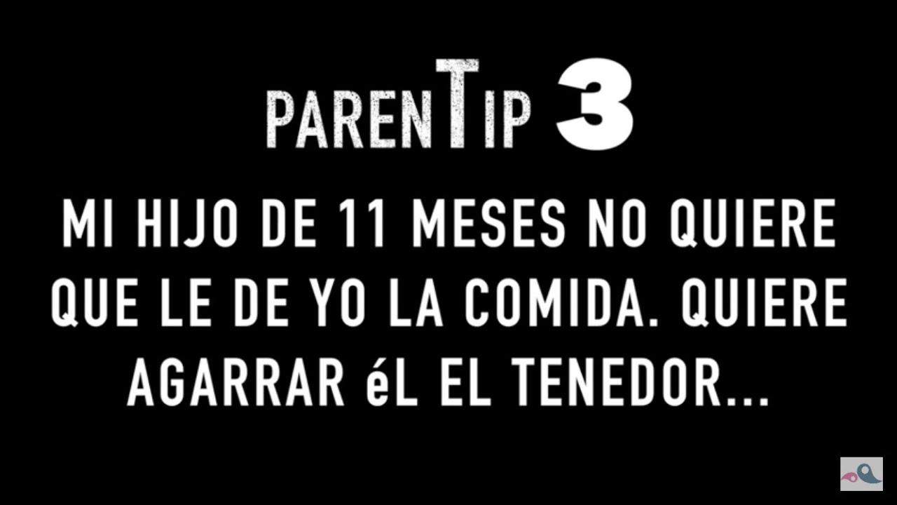 """ParenTip 3: """"mi hijo quiere comer solo"""""""