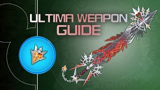KINGDOM HEARTS 3 - Ultima Weapon GUIDE - All 7 Orichalcum+