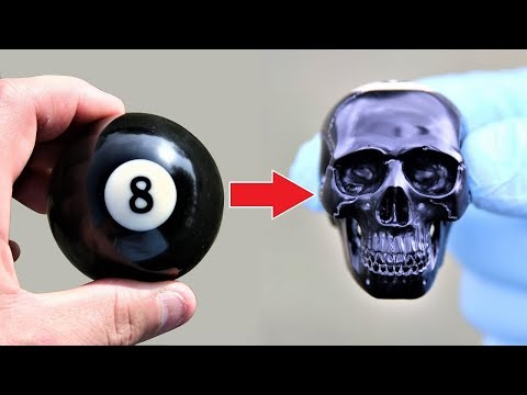 Turning an 8 Ball Into a Skull