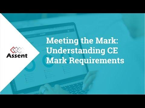 [Webinar] Understanding CE Mark Requirements - YouTube