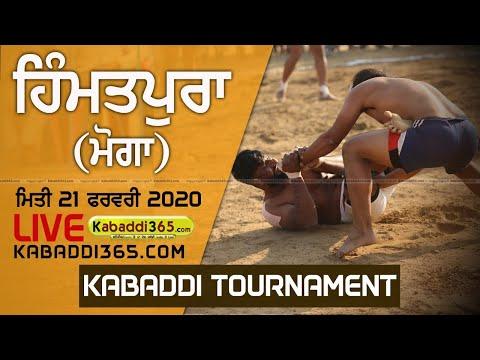 Himmatpura (Moga) Kabaddi Tournament 21 Feb 2020