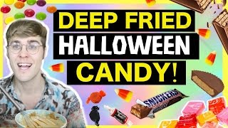 """DEEP FRIED HALLOWEEN CANDY """"WILL IT COMBO?"""