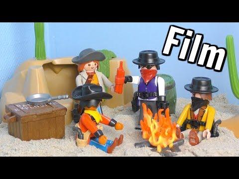 Playmobil Western Film - #3 Der Banküberfall / Bill bricht aus - The Clantons - Kinder Spielzeugwelt