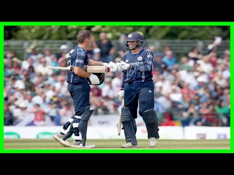 [2018 NEWS]Scotland stun England as Calum MacLeod hits 140 not out in Edinburgh