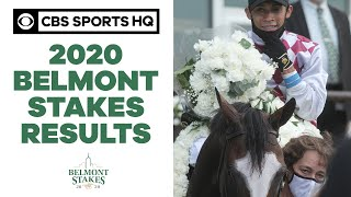 2020 Belmont Stakes results: Tiz The Law wins first jewel of the Triple Crown | CBS Sports HQ