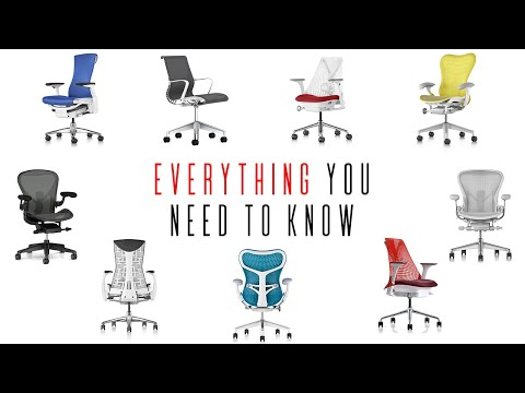 Used Buying Guide for (almost) Every Herman Miller Chair (Aeron, Embody, Mirra 1/2, Sayl, Setu) Pt 1