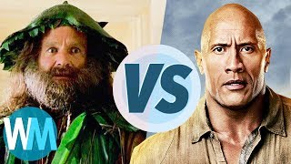 Jumanji! 1995 Vs 2017 Subscribe: http://goo.gl/Q2kKrD //  Have a Top 10 idea? Submit it to us here! http://watchmojo.com/my/suggest.php  Jumanji: Welcome to the Jungle is a certified hit at the box office, but how does it compare to the original Robin Williams led romp from 1995? WatchMojo puts the two movies head to head to find out which one is best? But which film will claim victory? Watch to find out!  Watch on WatchMojo: http://www.WatchMojo.com  Have an idea for our next video? Submit your suggestion here: http://www.watchmojo.com/my/suggest.php  Our Magazine!! Learn the inner workings of WatchMojo and meet the voices behind the videos, articles by our specialists from gaming, film, tv, anime and more. VIEW INSTANTLY: http://goo.gl/SivjcX  WatchMojo's Social Media Pages http://www.Facebook.com/WatchMojo http://www.Twitter.com/WatchMojo  http://instagram.com/watchmojo   Get WatchMojo merchandise at shop.watchmojo.com  WatchMojo's ten thousand videos on Top 10 lists, Origins, Biographies, Tips, How To's, Reviews, Commentary and more on Pop Culture, Celebrity, Movies, Music, TV, Film, Video Games, Politics, News, Comics, Superheroes. Your trusted authority on ranking Pop Culture.