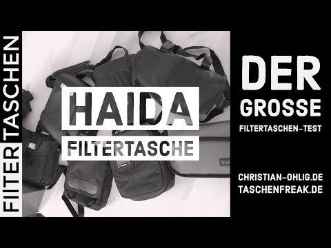 DER GROSSE FILTERTASCHEN-TEST - HAIDA FILTERTASCHE