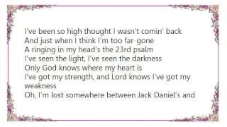 Chase Rice - Jack Daniel's  Jesus Lyrics