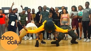 Juls X Wande Coal   Sister Girl (Afro In Heels Dance Video) | Patience J Choreography | Chop Daily