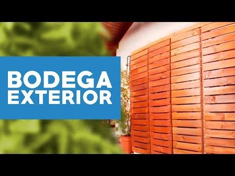 ¿Cómo hacer una bodega de exterior?