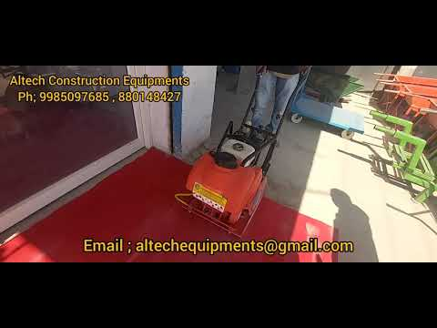 Earth Compactor With Petrol Engine