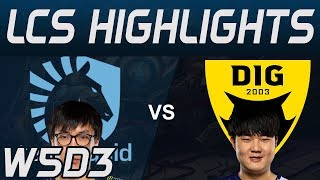 TL vs DIG Highlights LCS Spring 2020 W5D3 Team Liquid vs Dignitas LCS Highlights 2020 by Onivia