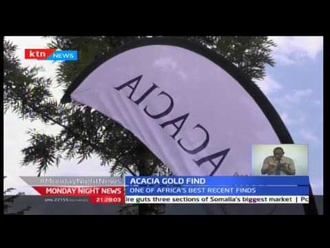 Discovery of Gold in Western Kenya