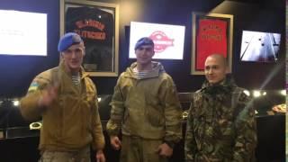 Спецназ поддержал Владимира Кличко. Только вперед! Только победа!