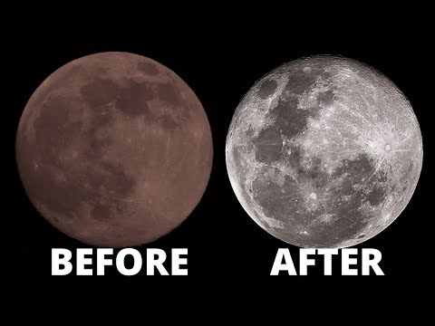 How to Stack Moon Photography