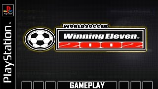 World Soccer Winning Eleven 2002 [PS1] Gameplay