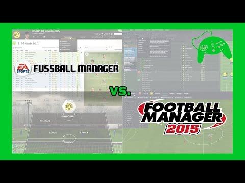 Vergleich: Football Manager (SEGA) vs. Fussball Manager (EA) - Test / Deutsch / Let's Play