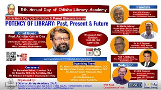 Librarian's Day Celebration & Panel Discussion On POTENCY OF LIBRARY: Past,Present & Future By OLA