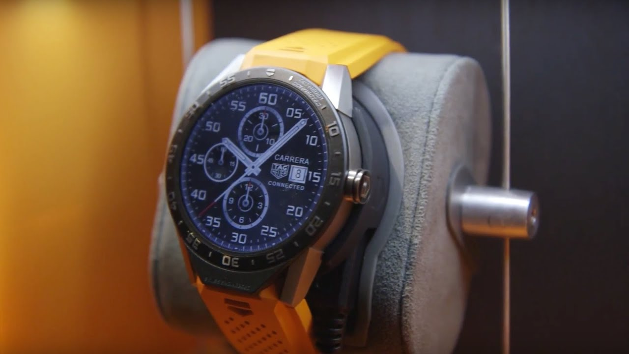 Hands-on with the $1,500 Tag Heuer Connected smartwatch thumbnail