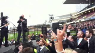 Alex Lyon live with Darryl Braithwaite Cox Plate 2011
