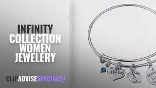 10 Best Selling Infinity Collection Women Jewelery [2018 ]: Mom Bracelet, Mom Son Charm Bracelet