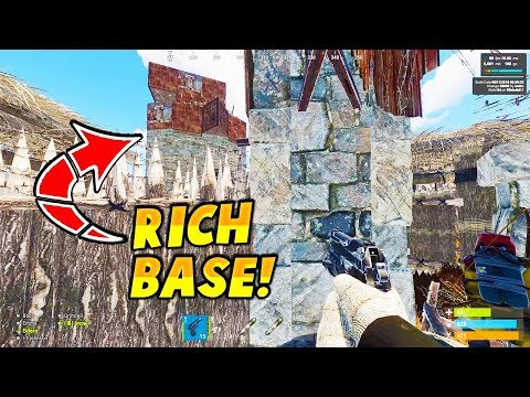 SUPER RICH ROLE PLAYER BASE COMPOUND IS LOADED! - Rust VANILLA RAID