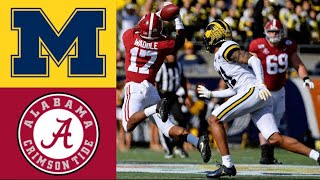 #14 Michigan vs #13 Alabama Citrus Bowl Highlights | 2020 College Football Highlights