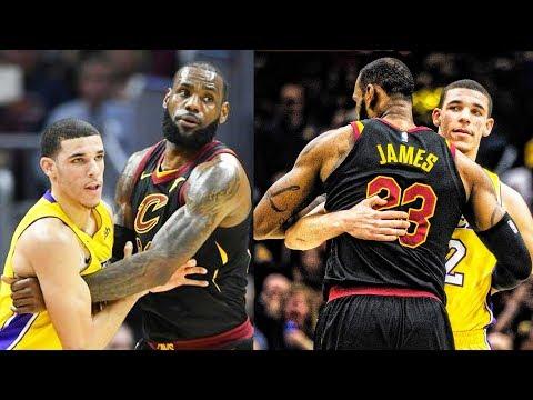 LeBron James Beats Lonzo Ball 1 on 1   LeBron James vs Lonzo Ball   Lonzo Ball Meets LeBron James