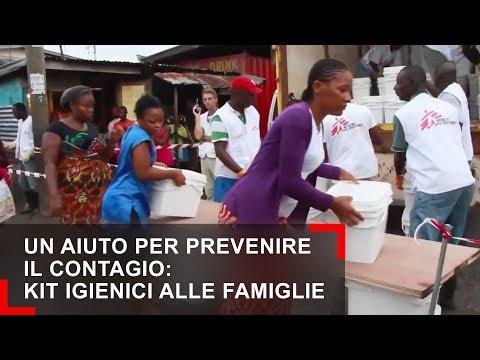 MSF - Un aiuto per prevenire il contagio: kit igienici alle famiglie