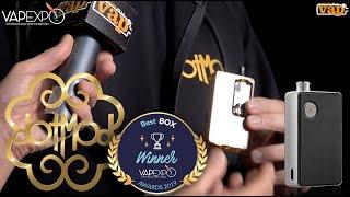 DOTMOD : DOTAIO, meilleure box de l'année à Vapexpo !