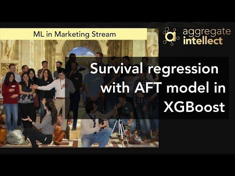Survival regression with AFT model in XGBoost