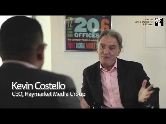 Kevin Costello, CEO, Haymarket Group