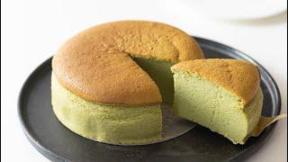 抹茶のスフレチーズケーキの作り方 Matcha Souffle Cheesecake|HidaMari Cooking