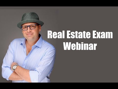 LIVE Real Estate Exam Prep: Finance Questions (7/1/19) - YouTube