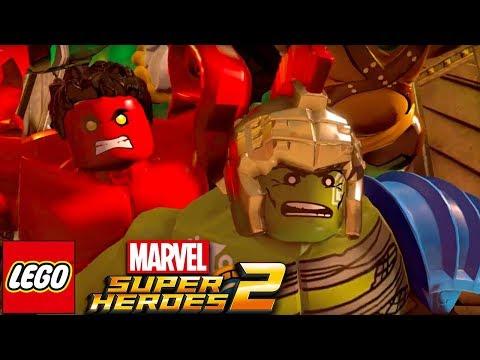 HULK KONEČNĚ NA SCÉNĚ! - Lego Marvel Superheroes 2 #10