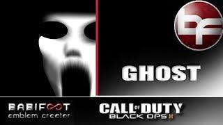 COD Black Ops 2 Emblem Tutorial  - Ghost