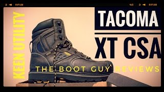 KEEN Utility TACOMA XT CSA [ The Boot Guy Reviews ]