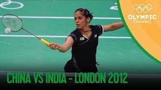 Saina Nehwal Wins Badminton Women's Singles Bronze – IND v CHN