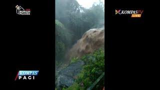 Video Amatir saat Puluhan Rumah di Banyumas Diterjang Banjir Bandang