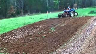 Preparing the garden soil  ~timelapse~