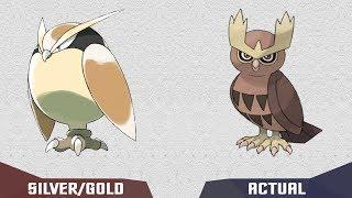 Beta Pokemon from gen 2 Pre evolutions and evolutions