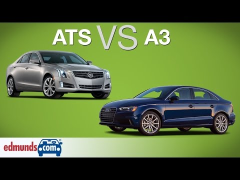 Audi A3 vs Cadillac ATS | Who Does Entry-Level Luxury Best?
