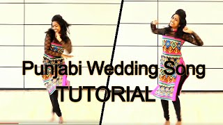 Punjabi Wedding Song   Dance Tutorial   Hasee to Phasee