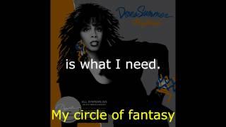 "Donna Summer - Dinner with Gershwin (7"" Single) LYRICS SHM ""All Systems Go"" 1987"