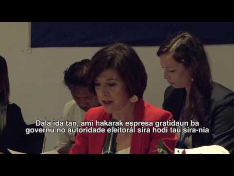EU EOM 2017 Presidential Preliminary Statement  English-Tetum