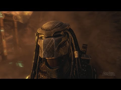 Aliens vs Predator - Game Movie (Сhronological Сut, 1080p 60fps)
