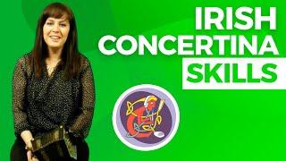 Edel Fox Irish Concertina Lesson [Technique & Session Tunes]