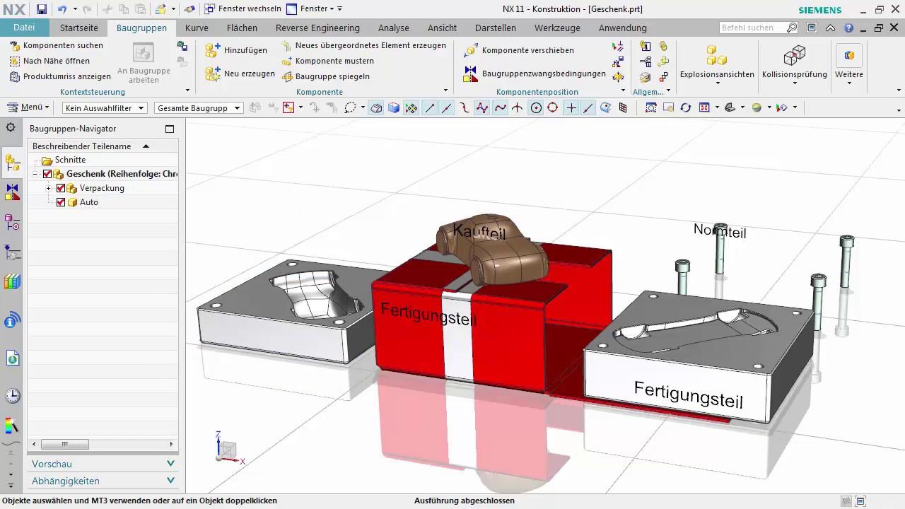 Vorschaubild: NX Tutorial: Geschenke packen mit der Funktion